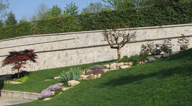 Creazione e manutenzione giardini e terre rinforzate for Esempi di giardini