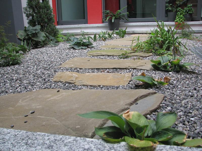 Muri e camminamenti fumagalli giulio - Camminamento pietra giardino ...
