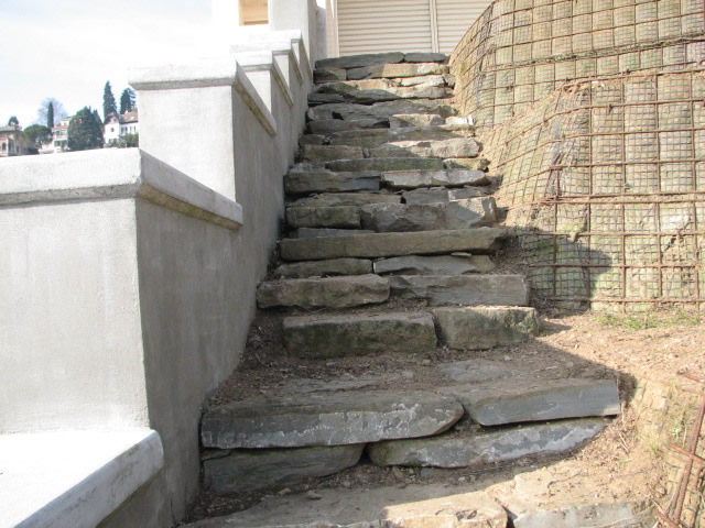 Muri e camminamenti fumagalli giulio - Muretti in pietra giardino ...