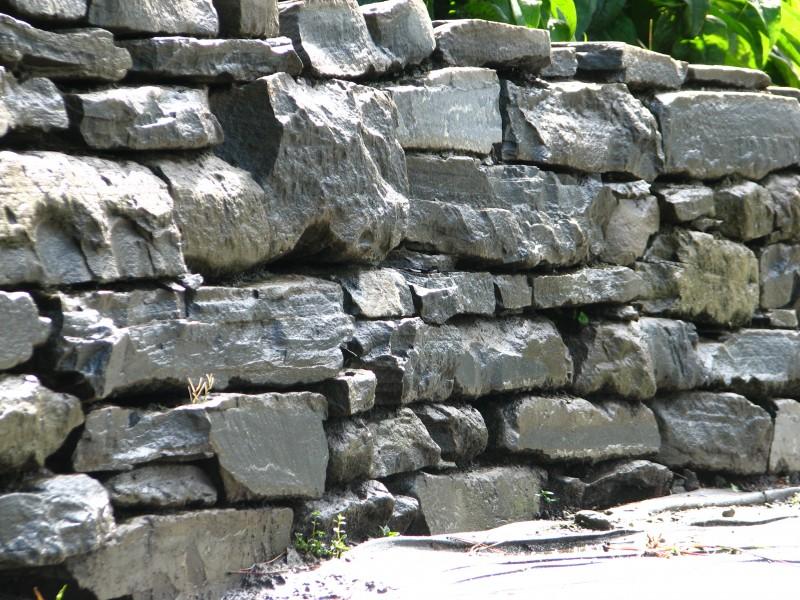 Excellent particolare di un muro a secco realizzato con - Muri esterni decorati ...