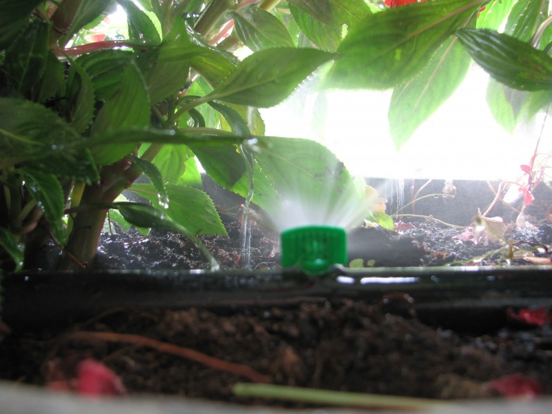 I nostri lavori per irrigazione automatica giardini for Irrigatore automatico per giardino