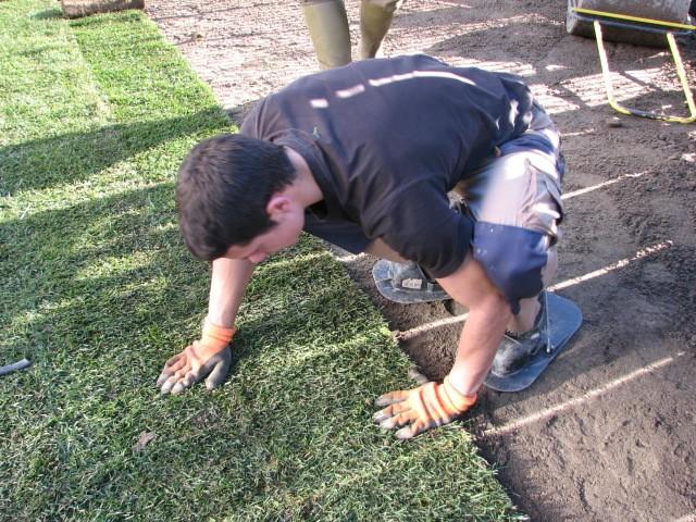I nostri lavori per tappeti e manti erbosi a semina e a zolle a pronto effetto, pagina 0 ...